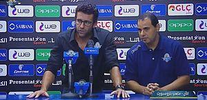 Alberto Valentim ficou apenas três partidas no time egípcio