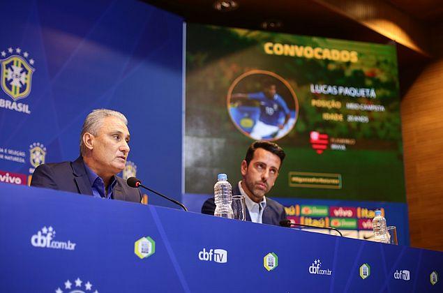 Tite convoca seleção com 11 novidades em relação à lista da Copa do Mundo