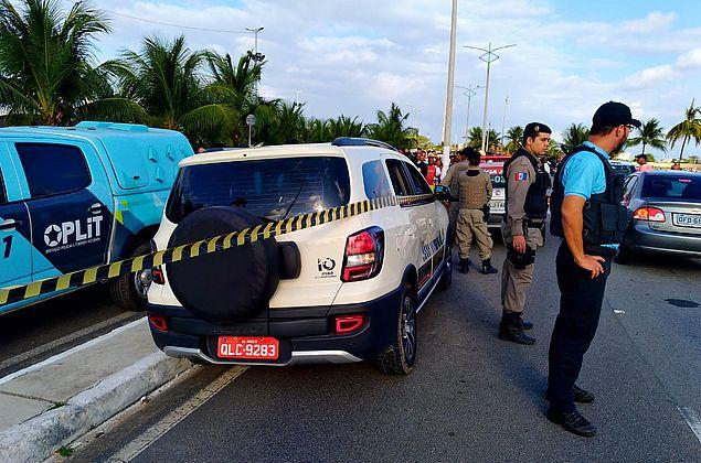 Taxista é assassinado em suposta tentativa de assalto em Jaraguá; veja vídeo