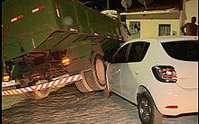 A empresa responsável pelo caminhão informou à família que vai arcar com todo prejuízo.
