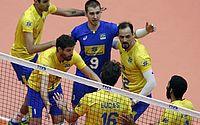 Brasil vence China e garante ida à 2ª fase do Mundial de vôlei