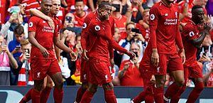 Liverpool bate Crystal Palace e obtém segunda vitória no Inglês