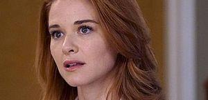 A atriz Sarah Drew
