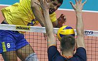 Brasil vence Canadá em quatro sets e se classifica no Mundial de vôlei