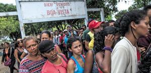 Imigrantes Venezuelanos no Brasil