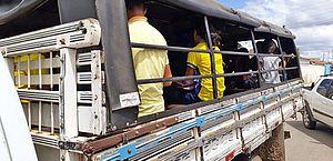 Estudantes de Campo Grande são transportados em pau-de-arara; MP pede providências
