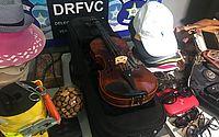 Violino foi encontrado na residência de suspeito