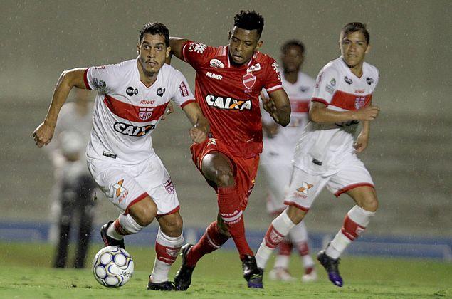 ACOMPANHE: No Serra Dourada, Vila Nova e CRB vão empatando em 0 a 0 pela Série B