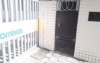 Portão foi forçado e utilizado para acessar o interior do estacionamento