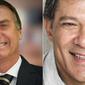 Bolsonaro sobe para 33% dos votos; Haddad salta para 16% e empata com Ciro em 2º, mostra pesquisa