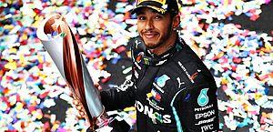 Lewis Hamilton vence na Turquia e se torna heptacampeão mundial