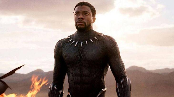 Chadwick Boseman foi protagonista do filme Pantera Negra