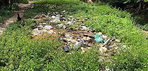 Descarte incorreto de resíduos é identificado através de denúncias feitas por aplicativo