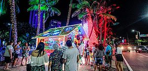 Iluminação de Natal será lançada no dia 24 com música e apresentação cultural