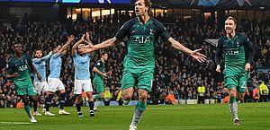 Champions: Tottenham elimina Manchester City em jogo de 7 gols