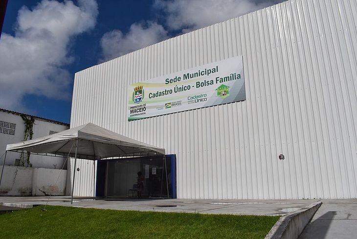 Nova sede do Bolsa Família, na Serraria