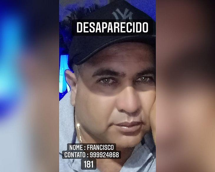 Francisco Costa saiu de casa no domingo, quando familiares noticiaram o desaparecimento