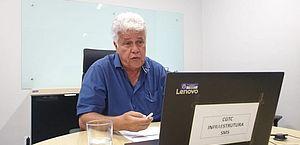 Secretário Municipal de Saúde faz videoconferência com gerentes de unidades