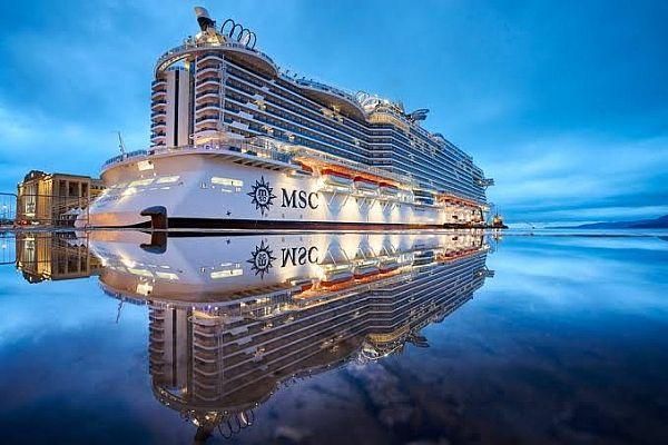 O MSC Seaview é o maior navio da temporada no Brasil, com capacidade para 6744 pessoas, entre passageiros e tripulantes