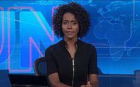 Maju Coutinho estreia na bancada do JN e se torna primeira mulher negra a apresentar o telejornal