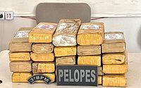Polícia encontra 23 kg de maconha em fundo falso de casa abandonada em Arapiraca