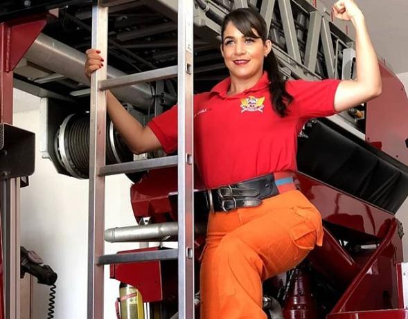 enente-coronel do CB-AL, Camila Paiva, também é líder do movimento Somos Todas Marias