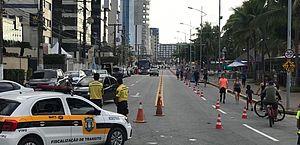 SMTT garantirá o ordenamento do trânsito durante evento na orla nesta domingo (1º)