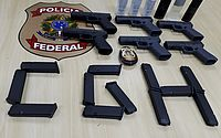 Polícia prende homem com seis pistolas no Aeroporto de Congonhas, em São Paulo