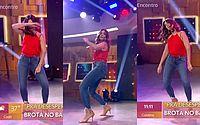 """Fátima Bernardes dança 'Tudo OK' e web reage: """"Para o desespero do Bonner"""""""