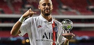 Liga dos Campeões: Neymar é indicado ao prêmio de melhor atacante