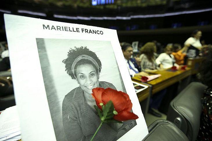 Homenagem a Marielle Franco e Anderson Gomes na Câmara dos Deputados