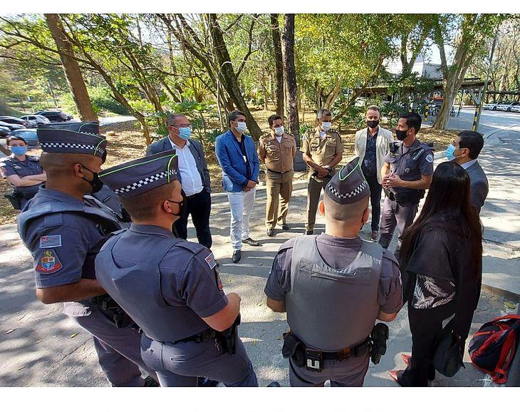 Representantes do sistema prisional e da Secretaria da Mulher e dos Direitos Humanos também conheceram experiência paulista