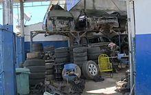 Fiscalização identifica desmanche de carros e interdita oficina no Tabuleiro