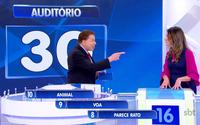 Rebeca Abravanel participa do Programa Silvio Santos.