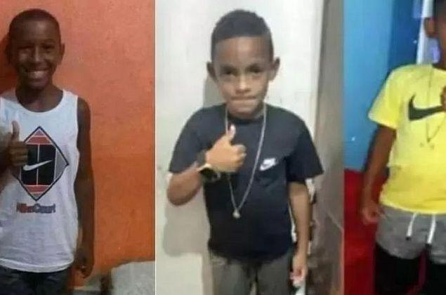 Sumiço de crianças: Polícia encontra saco com ossada e cabelo em rio no RJ