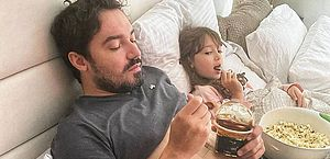 Fernando Zor se recupera ao lado da filha caçula em meio a polêmica com ex-mulher