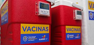Entrega de vacinas no interior do estado deve ser concluída até sexta-feira, 22, garante Renan Filho