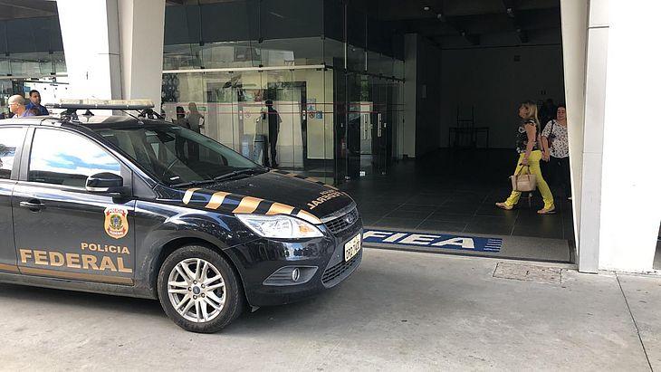 PF cumpre mandado na Casa da Indústria, em Maceió