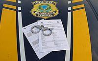 Foragido da Justiça da Bahia, que se passava por advogado, é preso pela PRF em AL