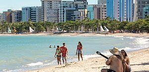 Maceió tem primeiro fim de semana com orla liberada durante pandemia
