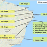 AL: cinco municípios ainda têm óleo nas praias; Maceió fica de fora