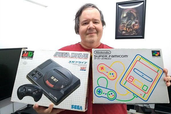 Fernando Milito fez de um dos cômodos do seu apartamento um pequeno museu dedicado ao mundo geek/nerd