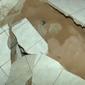 Cratera se abre em um dos quartos de uma casa na Marquês de Abrantes, no Bebedouro