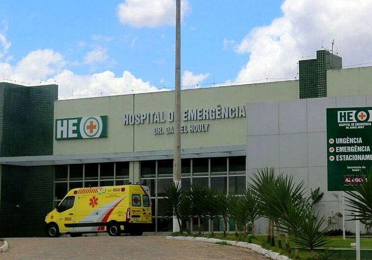 Os feridos foram levados para o HEA, em Arapiraca