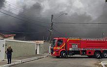 Fogo consome residências no Inocoop