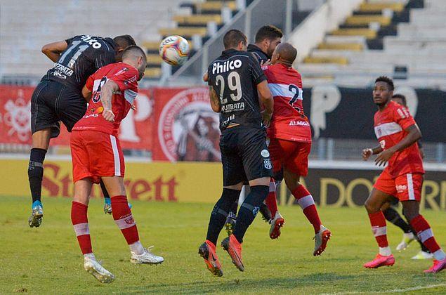 Fora de casa, CRB perde por 3 a 1 para a Ponte Preta na penúltima rodada da Série B