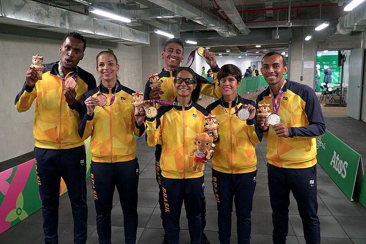 Delegação conquistou recorde de medalhas