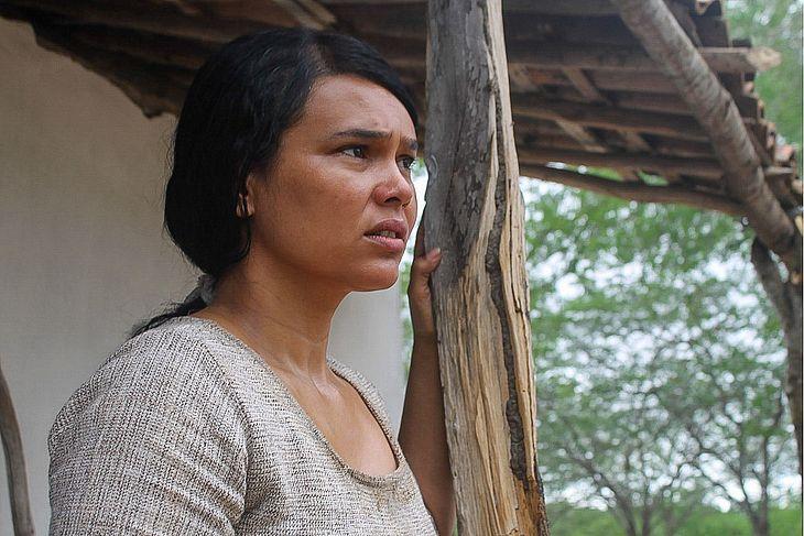 A atriz Márcia Mariah Morello