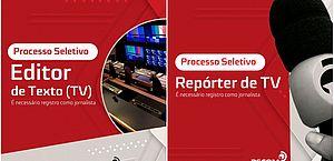 TV Pajuçara abre processo seletivo para Repórter e Editor de Texto