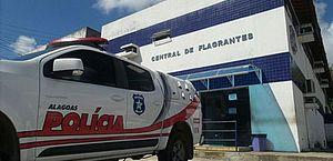 Suspeito foi levado para a Central de Flagrantes I